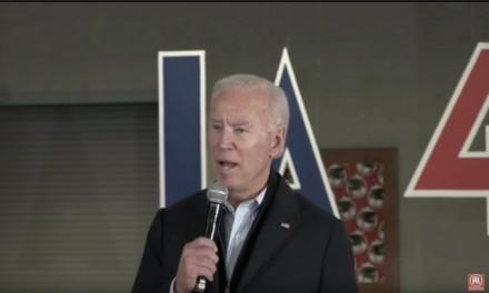 Malarkey: Biden calls Iowa voter 'a damn liar', challenges him to a push-up contest