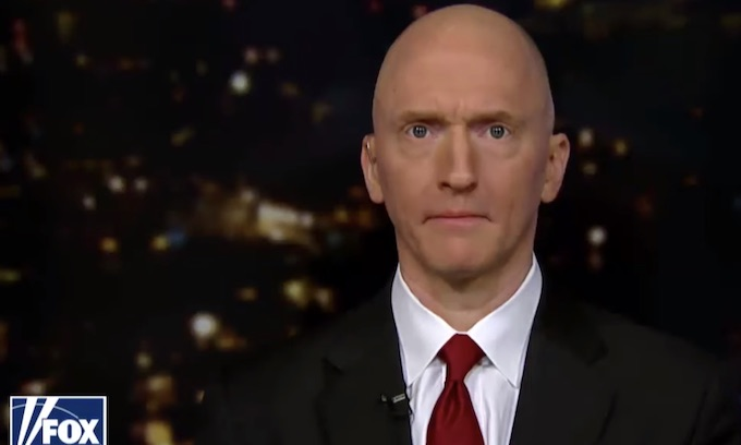 FBI deliberately hid Carter Page's patriotic role as CIA asset, IG report shows