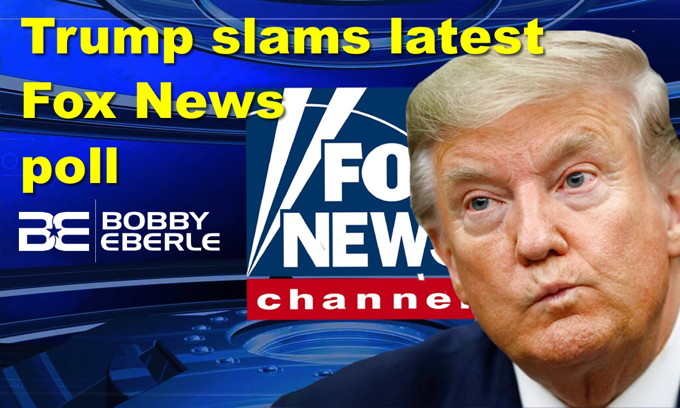 Trump slams latest Fox News poll; Anti-impeachment Democrat Van Drew jumps ship, joins GOP