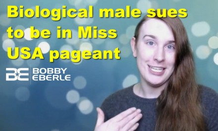 Biological male sues to be in Miss USA pageant; Nancy Pelosi babbles and Democrats debate