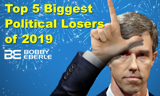 Top 5 Biggest Political Losers of 2019; Leftwing writer: Merry Christmas means F*** You