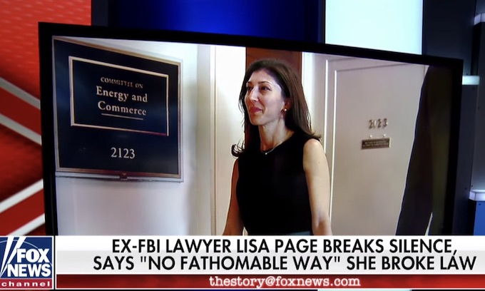 Lisa Page is no Monica Lewinsky