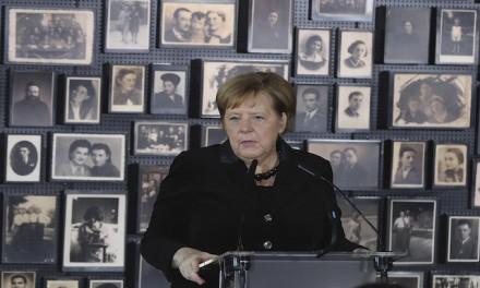Angela Merkel's first Auschwitz visit: I feel deeply ashamed