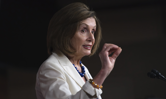 'I didn't go. I had other parties to go to': Pelosi says about Obama's party