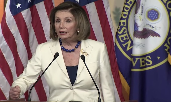 Nancy Pelosi pulls impeachment rabbit from magic hat