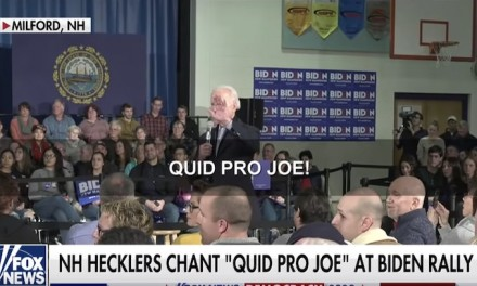 Quid Pro Joe: This is not a Trump rally!