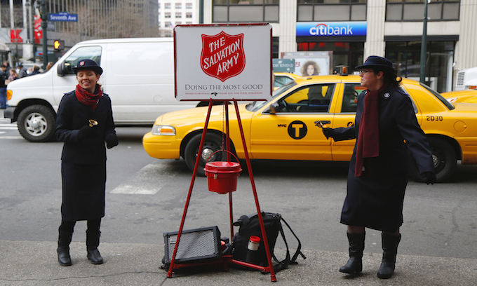 Nordstrom banned Salvation Army kettles because they made LGBTQ employees 'uncomfortable'