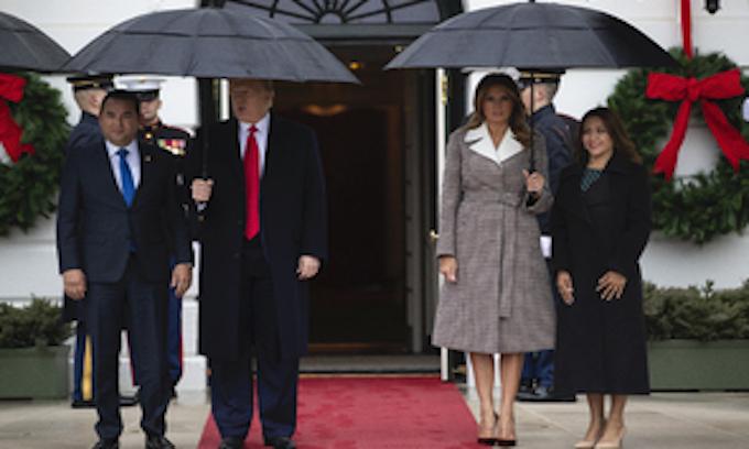 Trump says Guatemala is helping stem asylum seekers in US