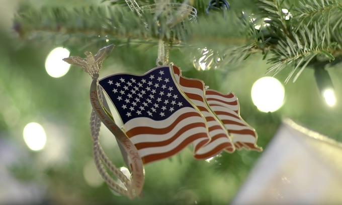Media delivers hateful snark for White House patriotic Christmas