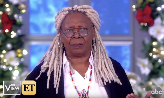 Whoopi Goldberg dreams that Obama might be Biden's VP: Man, what would happen?