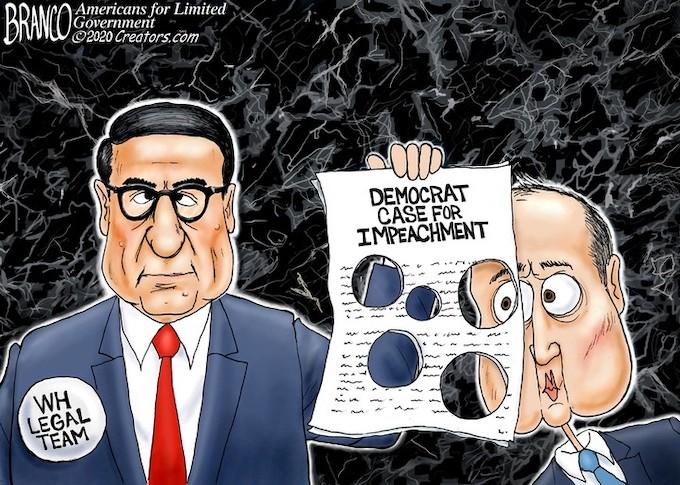 Schiff full of holes!