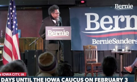 Cornel West warns against Bernie Sanders rivals' attempt to sow division