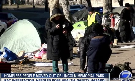 Democrat led Denver closes park near state Capitol because of 'huge rat infestation'