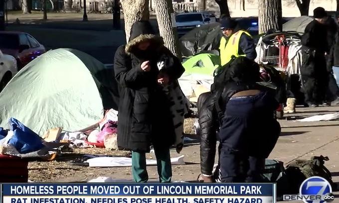 Democrat led Denver closes park near state Capitol because of 'huge rat infestation'