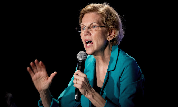 Some Democrats see toothless VP job as perfect spot for Elizabeth Warren