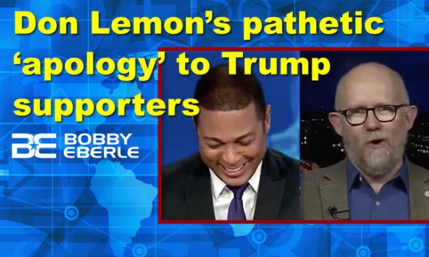 CNN's Don Lemon's pathetic 'apology' to Trump supporters; Dems losing badly at impeachment