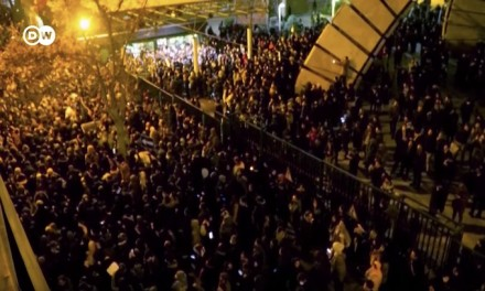 Iran: Protests, teargas and gunfire as public anger grows over aircraft downing