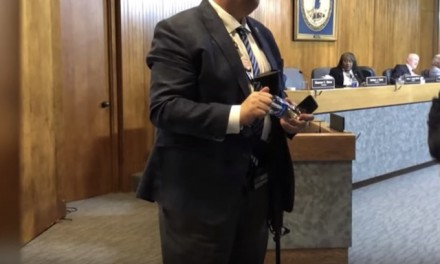 Virginia councilman triggers liberal peers by wearing an AR-15 across his chest to city hall meeting