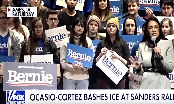 Ocasio-Cortez lauds Bernie Sanders' push to break up ICE, Customs and Border Protection