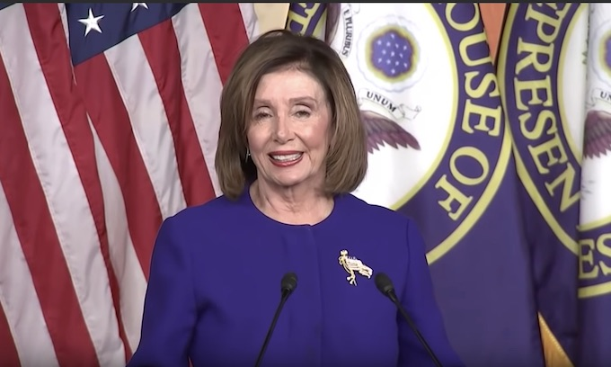 Pelosi gives bizarre, inappropriate press conference after plane crash