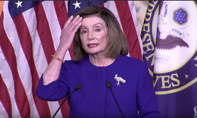 Pelosi: I'll send them over when I'm ready