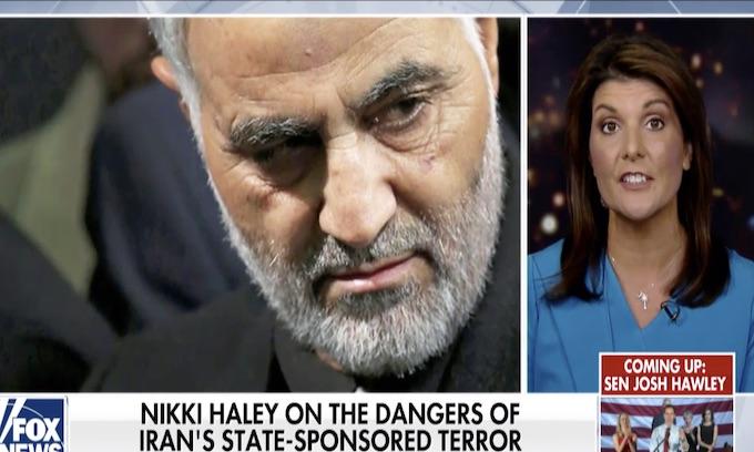 Nikki Haley: Democrat leadership 'only ones mourning Soleimani'