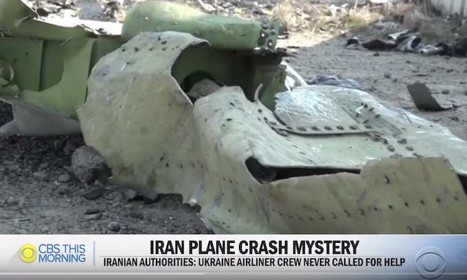 Iran wants to handle black box data after plane crash blamed on missile