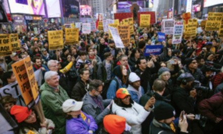 Protesters from leftist groups across US defend Iranian terrorists