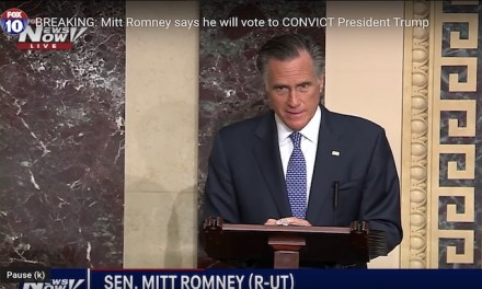 US Senate: Trump not guilty on all charges — Mitt Romney announces he will vote with Democrats to convict Trump