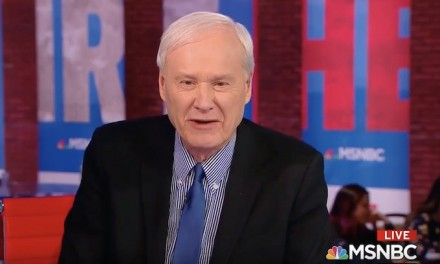 Chris Matthews warns of Trump landslide win if 'full of it' Bernie Sanders is Dem nominee