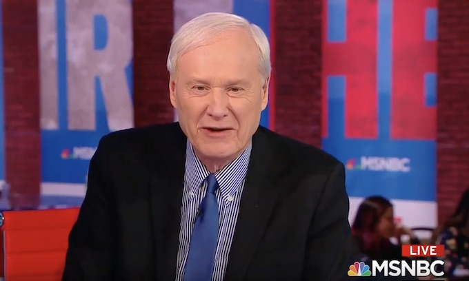 Bernie Bros demand Chris Matthews' resignation from MSNBC