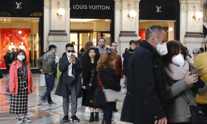 Coronavirus pandemic fears increase as Italy, Iran, South Korea become hot spots