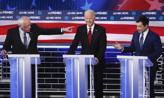 Democrats' circular firing squad must have made Trump smile