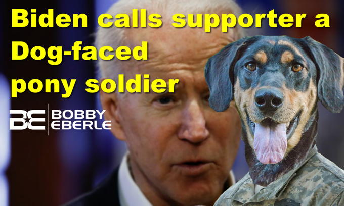 Biden: 'You're a lying, dog-faced, pony soldier'; Pitt, Phoenix go political at the Oscars