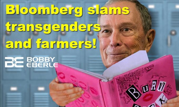 Bloomberg slams transgenders, farmers, and more! Bernie: Fox News is more fair than MSNBC
