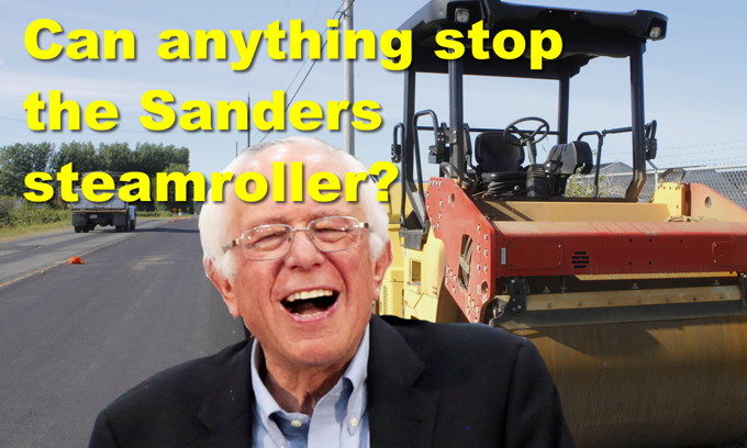 Can anything stop the Bernie Sanders steamroller? Trump called fattest president since FDR
