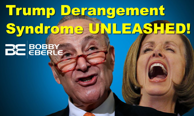 Trump Derangement Syndrome vs. The Coronavirus! Majority of Dems would support a socialist