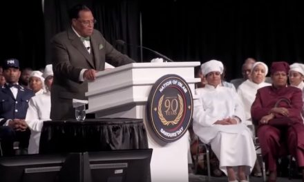 Louis Farrakhan says billionaires 'paying off' black preachers, politicians