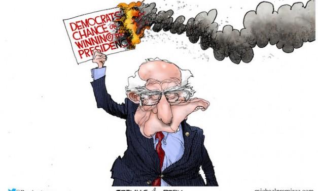 Burning it down!