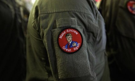 Navy punishes sailors for MAGA-like patches