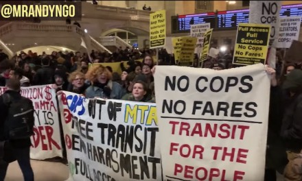 Anti-cop demonstrators storm Grand Central Terminal during rush hour