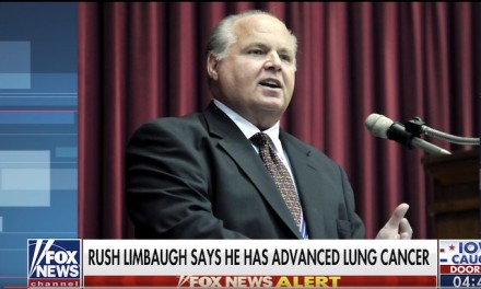 Rush Limbaugh reveals he has lung cancer, shocking and saddening his listeners