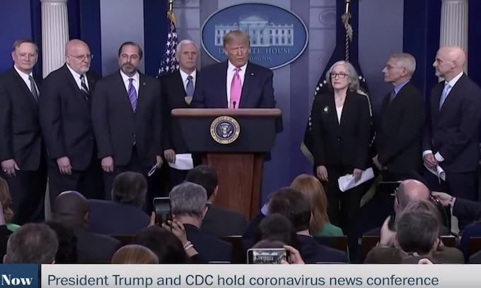 President Trump addresses coronavirus concerns, appoints VP to head response