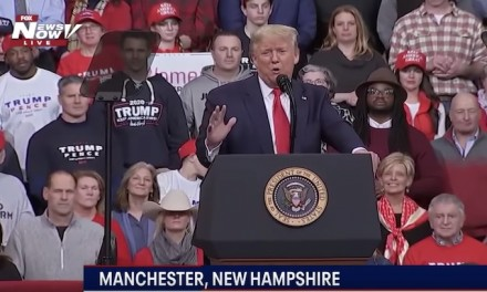 Rally: Crowd Chants 'Lock her up' when Trump talks about someone mumbling behind him at SOTU