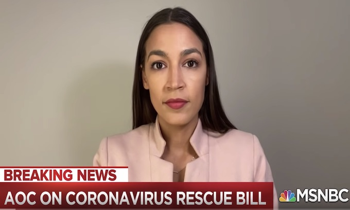 AOC blames GOP for not granting checks to all immigrants