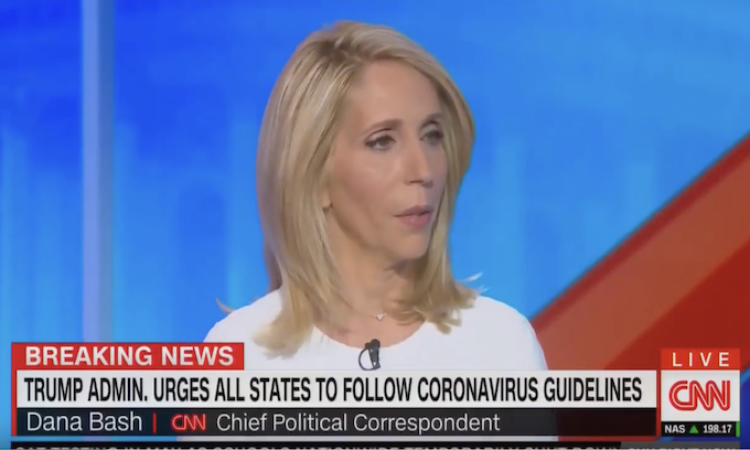 Whoa! CNN's Dana Bash praises Trump's press conference: 'The kind of leader that people need'