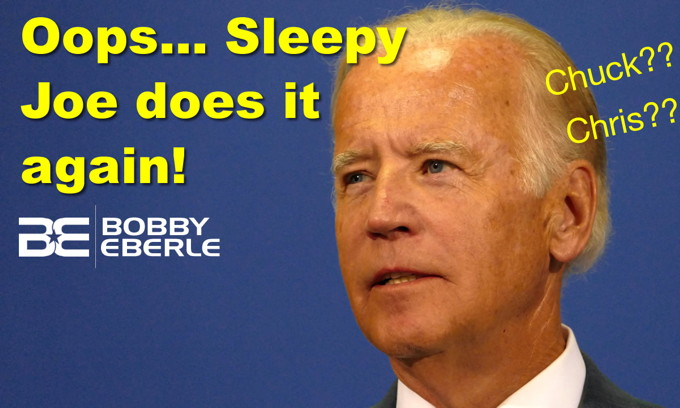 Oops.. Biden forgets host's name when talking about memory lapses; Can anyone stop Bernie?