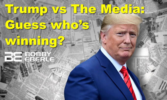 Trump vs. The Media: Guess who's winning? Joe Biden sounds off on new unemployment numbers