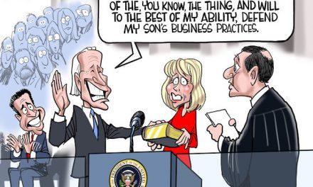 Biden Swears Allegiance