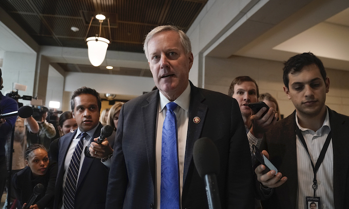 Rep. Mark Meadows to become new White House chief of staff